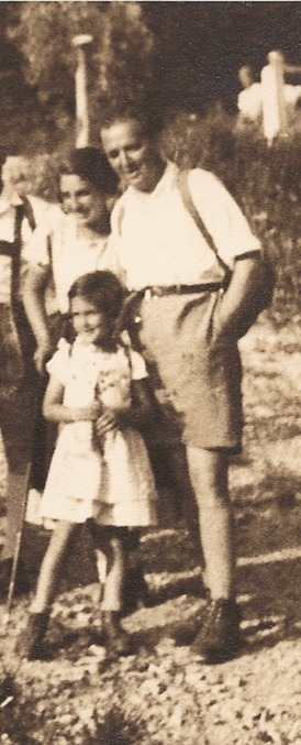 Gertude & Ludwig and their daughter Ruth<br>Photo: private