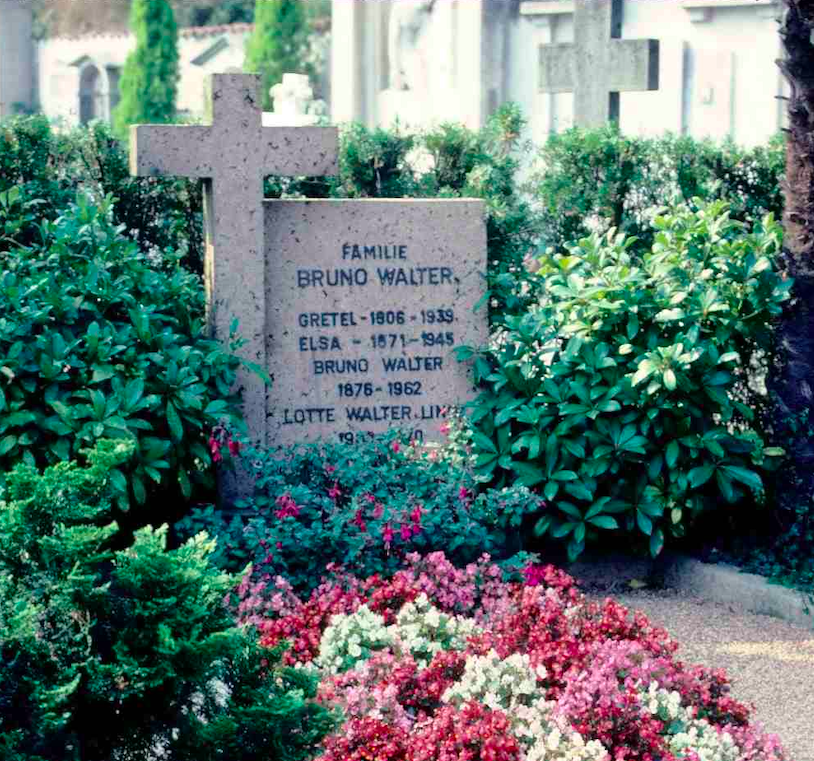 Grave of Bruno Walter and family in Sant
