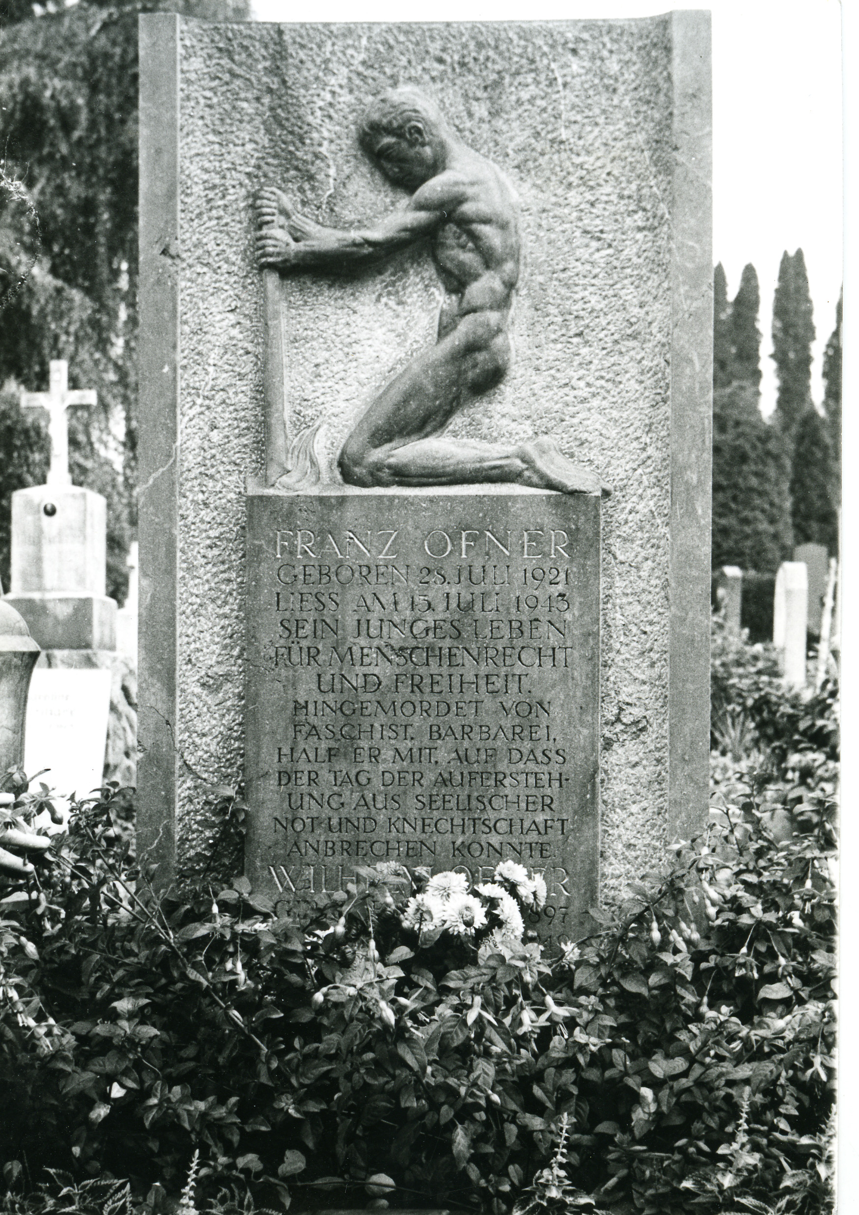 Tombstone of Franz Ofner