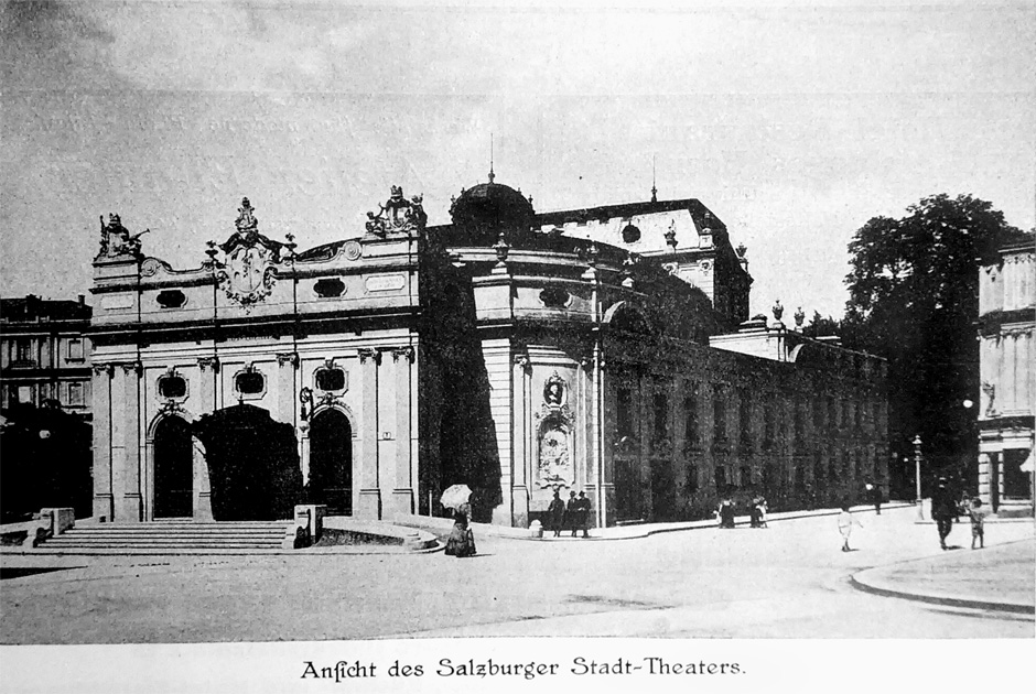 The former »Stadttheater«