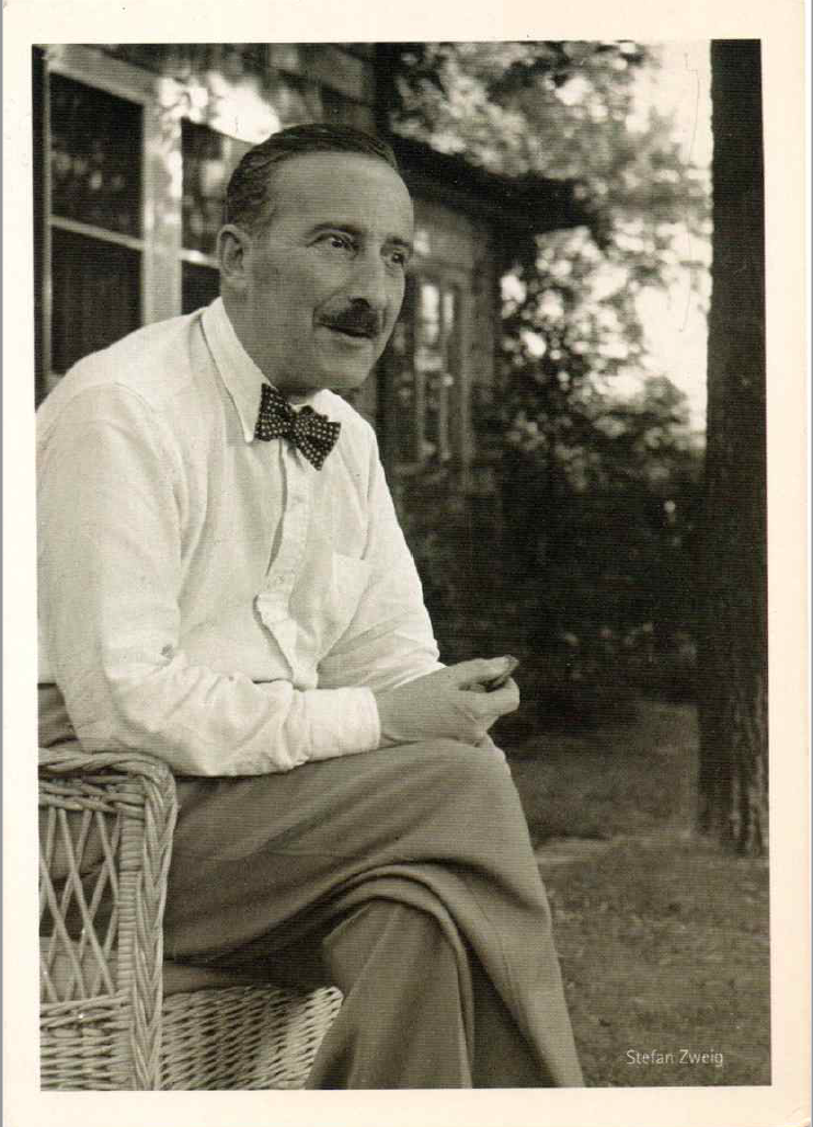 Stefan Zweig 1941 in New York Ossining<br>Photo: Suzanne Hoeller
