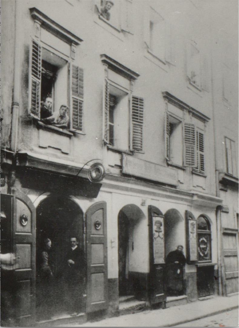 Linzer Gasse 24, ca. 1920ies<br>